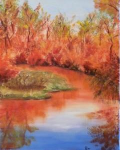 Meital Milick, Autumn Landscape