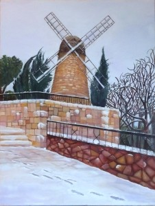 Rivka, Jerusalem Landscape