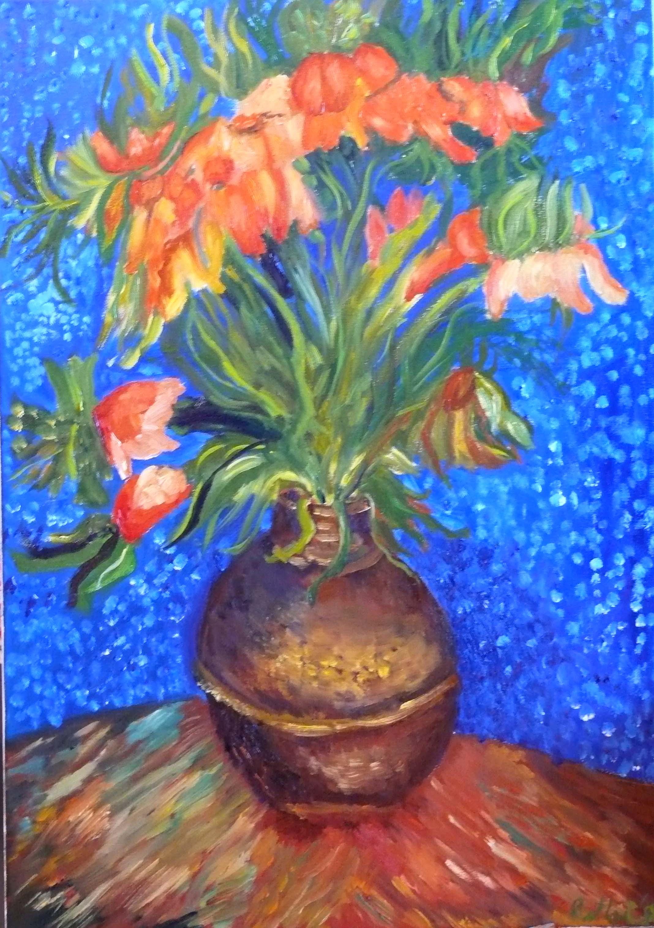 Hot Video Poppy Flowers Van Gogh